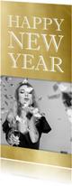 Nieuwjaarskaart 2019 goud