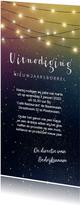 Nieuwjaarskaart uitnodiging bedrijfsborrel