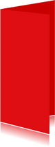 Rood dubbel langwerpig