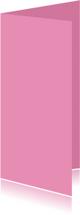 Roze dubbel langwerpig