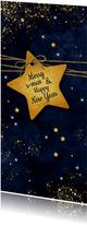 Twinkeling stars voor de donkere dagen voor kerst