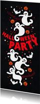 Uitnodiging Halloween party kinderen
