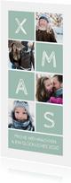 Weihnachtskarte XMAS & vier Fotos