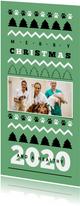 Zakelijke kerstkaart dieren verzorging arts foto pootafruk