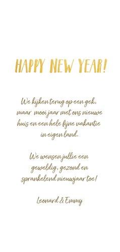 fotokaart nieuwjaars met fotocollage en jaartal 2022 3