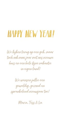 Langwerpige nieuwjaarskaart met fotocollage met 8 fotos 3