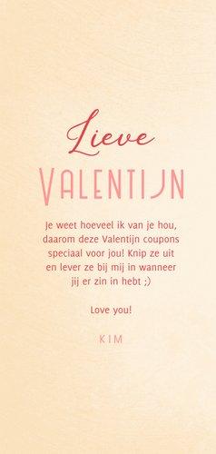 Valentijnskaart coupons uitknipbaar 3