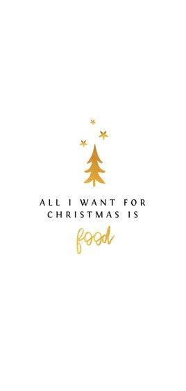 Menukaart kerstdiner stijlvol met goud en sterren Achterkant