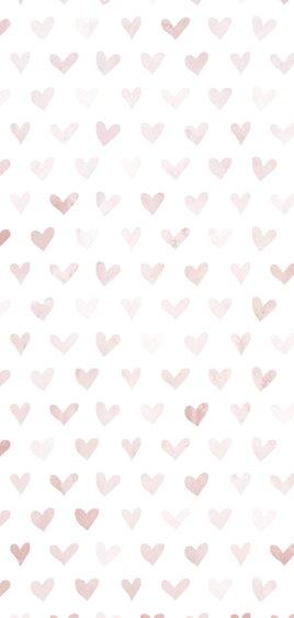 Valentijnskaart 'gek op jou' met geïllustreerde hartjes 2