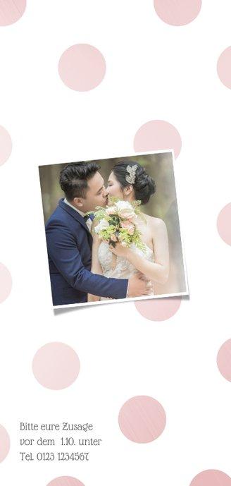 Einladungskarte 10. Hochzeitstag '10 years of love' 2