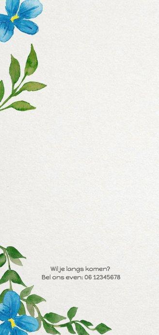 Geboorte bladeren jongen langwerpig - DH 2