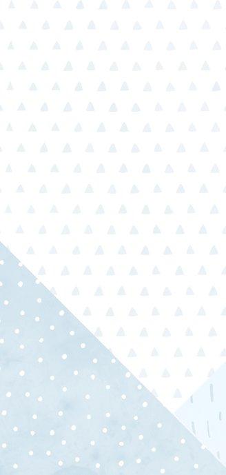 Geboortekaartje confetti en geometrische vormen jongen 2