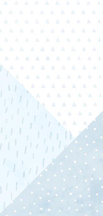 Geboortekaartje confetti en geometrische vormen jongen Achterkant