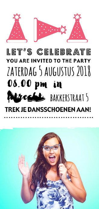 Help me celebrate 50 year!  Achterkant