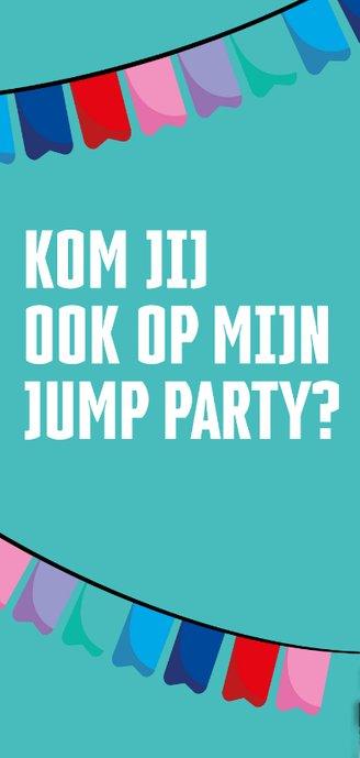 Jump XL uitnodiging JumpParty Jongen/Meisje 2