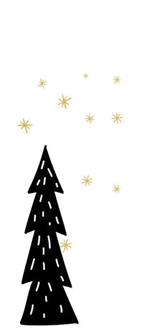 Kerstkaart: De ster een klein teken 2