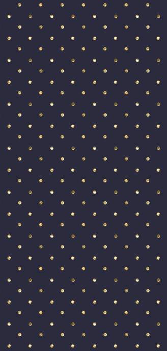 Kerstkaart lang confetti rand Achterkant