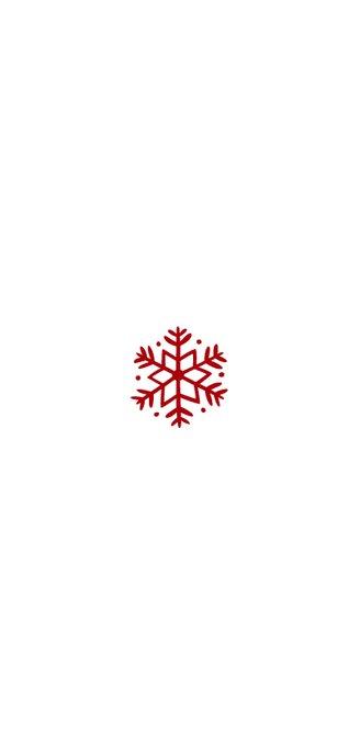 Kerstkaart langwerpig met foto's en rode blaadjes Achterkant