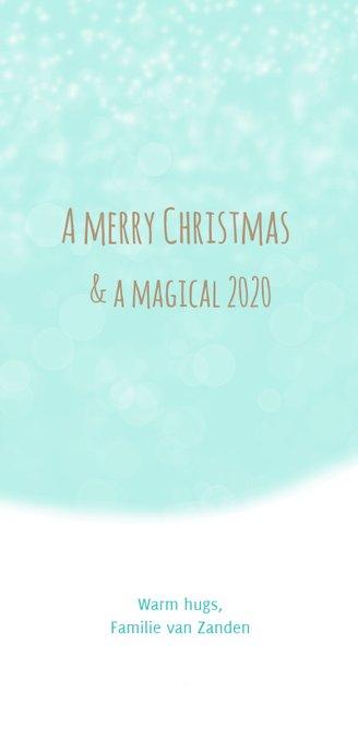 Kerstkaart Maple and Chestnut Sneeuw pret 3
