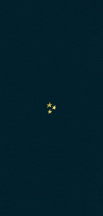 Kerstkaart notenkraker vintage sterren goud illustratie Achterkant