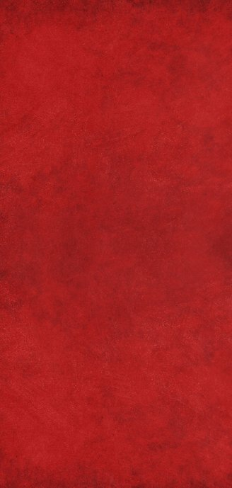 Langwerpige dubbele rode nieuwjaarskaart met gouden sterren Achterkant