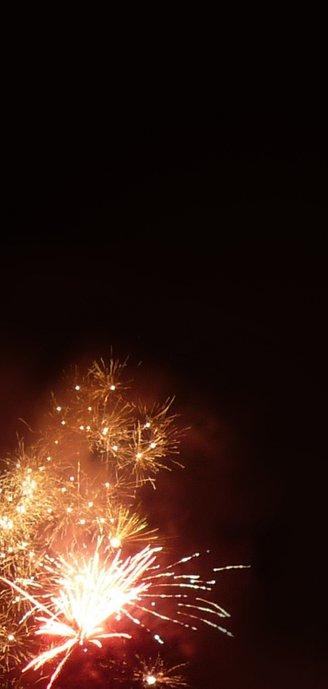Nieuwjaar 2021 vuurwerk fotocollage 2