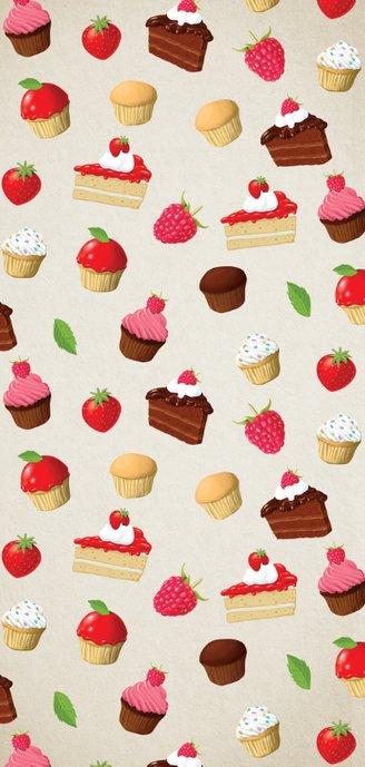 Smakelijke uitnoding met taartjes en cupcakes 2