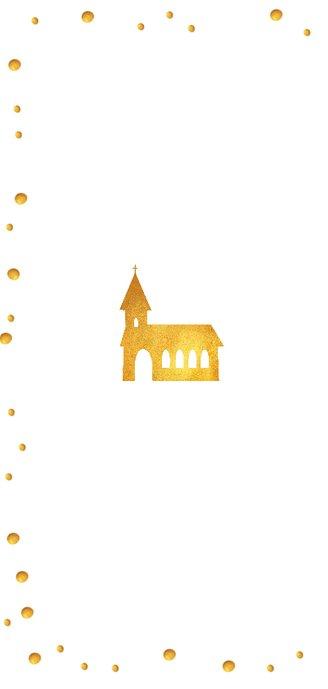 Uitnodiging communie met waterverf en feestelijke confetti  2