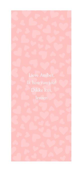 Valentijnskaart I love you met foto's en hartjes 3