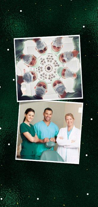 Zakelijke kerstkaart medewerkers goud waard foto 2