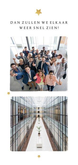 Zakelijke nieuwjaarskaart medewerkers hello 2021 bedankt 2