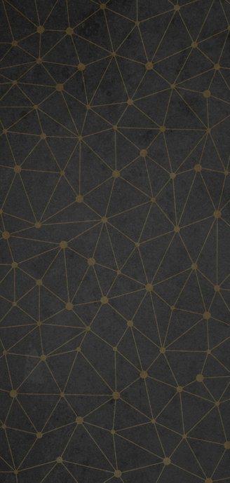 Zakelijke nieuwjaarskaart verbinding thema gouden 2021 Achterkant