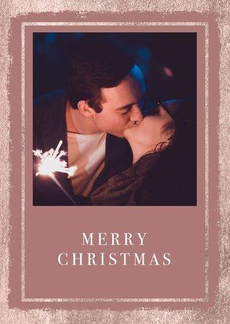Weihnachtskarten Mit Eigenem Bild.Weihnachtskarte Minimalistisch Mit Eigenem Foto Und Text