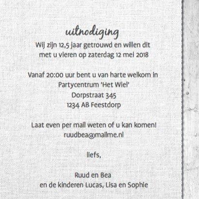 12,5 jaar getrouwd - vergrijsdhout print 3