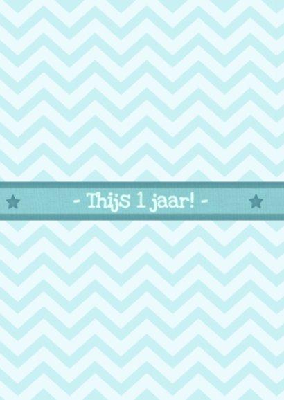 12 maanden Kaart - Jongen 2