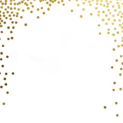 2021 Kerstkaart ster goud Achterkant