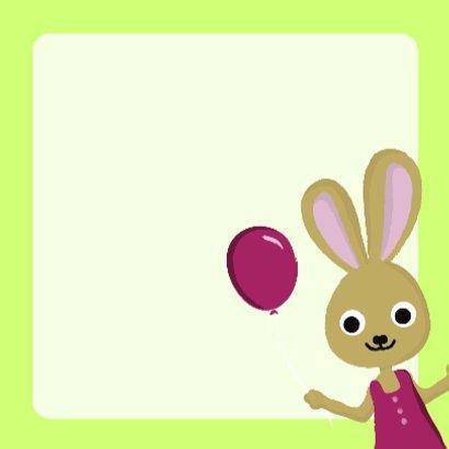 3 Jaar Verjaardag Konijn Verjaardagskaarten Kaartje2go