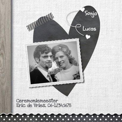 50 jaar huwelijk houten linnen 2