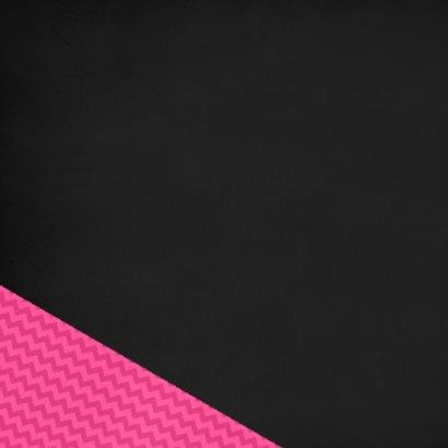 50 Zigzag en vlaggen roze 2