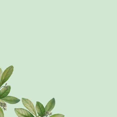 A big hug - botanische liefdekaart 2