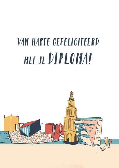 Afgestudeerd in Groningen plattegrond 3