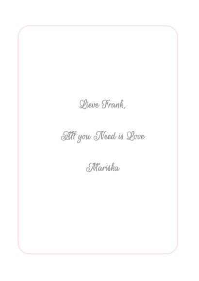 All you Need is Love - BK 3