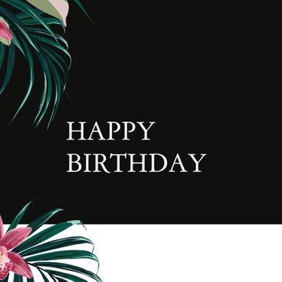 Aloha wenskaart - Happy Birthday 2