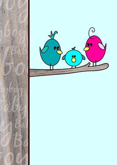 Baby BOY vogeltje in een boom 2