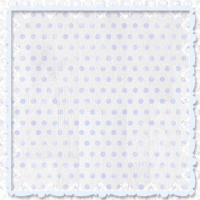 Babyhart blauw met sterren 3