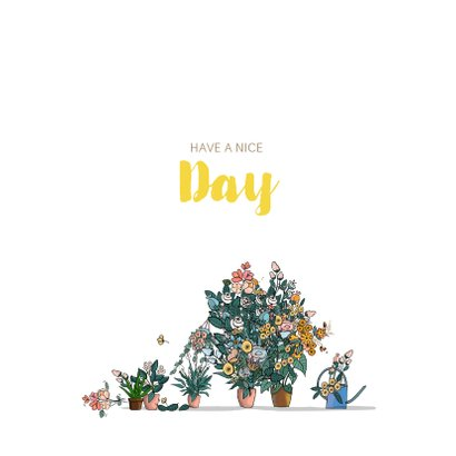Bakfiets met bloemen 3
