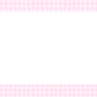 Bar creatief - mijn doop roze ruitjes 2