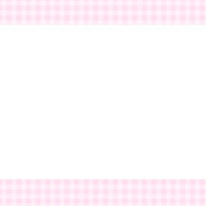 Bar creatief - mijn doop roze ruitjes 3