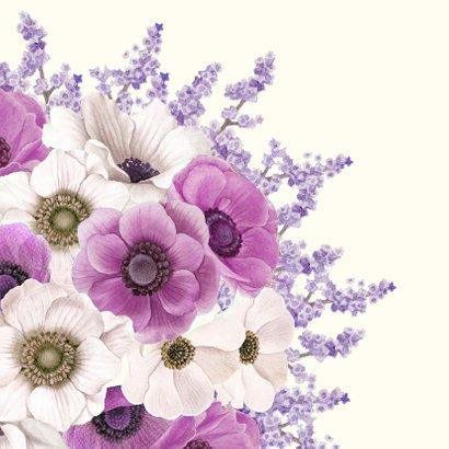 Bedanken met bloemenboeket 2