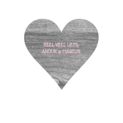 Bedankkaart hart houtlook 3
